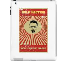 Pulp Faction - CPT Koons iPad Case/Skin