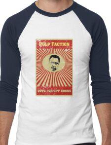 Pulp Faction - CPT Koons Men's Baseball ¾ T-Shirt