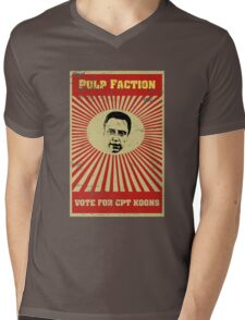 Pulp Faction - CPT Koons Mens V-Neck T-Shirt