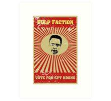 Pulp Faction - CPT Koons Art Print