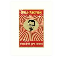Pulp Faction - CPT Koons Art Print