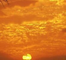 Molten Sunset by John Brotheridge