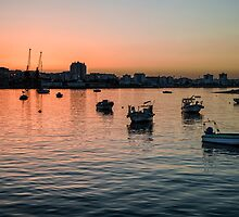 Sunset on Portimao,  Portugal by JJFarquitectos