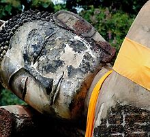 Reclining Buddha by Dave Lloyd