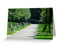 An Imaginary Walk Greeting Card