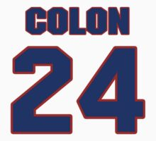 National football player Harry Colon jersey 24 by imsport