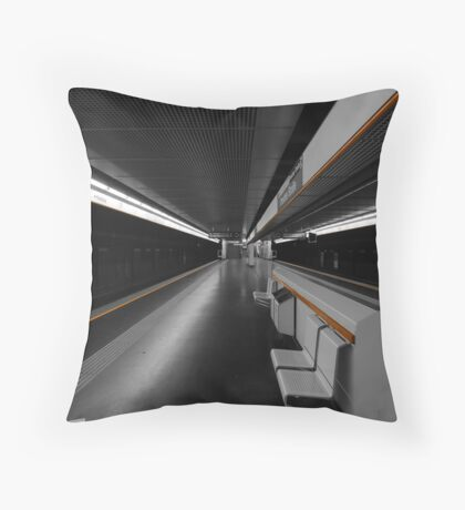 Deeper Underground Throw Pillow