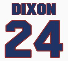 National football player Anthony Dixon jersey 24 by imsport