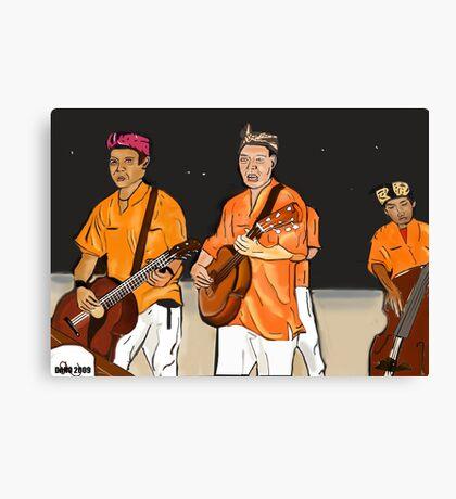 The Balisian band Canvas Print