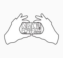 Keep Fingers Away From Lens (t-shirt) by Yao Liang Chua