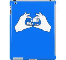 Keep Fingers Away From Lens (t-shirt) iPad Case/Skin