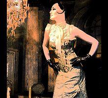 society lady - art nouveau by fuxart