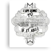 The Mountain Goats - This Year Canvas Print