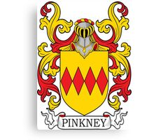 Pinkney Coat of Arms Canvas Print