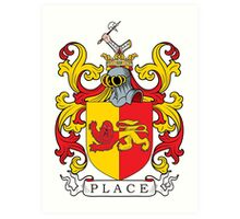 Place Coat of Arms Art Print