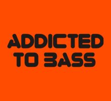 Addicted To Bass Kids Clothes