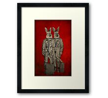 We are ready Framed Print