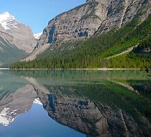 Reflections in the Rockies by Darbs