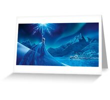 Elsa from frozen Greeting Card