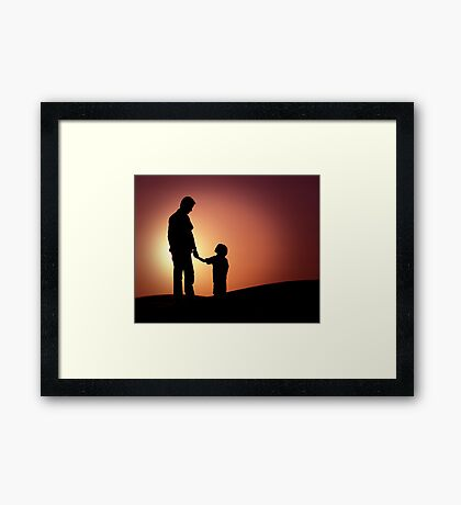 My Hero Framed Print