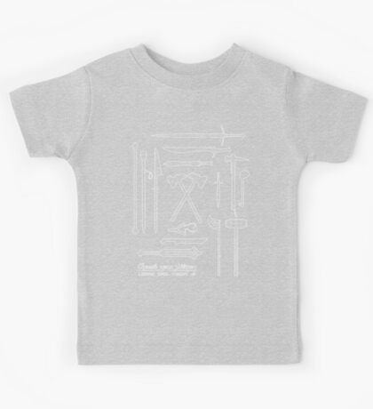 The Weapons of the Company Kids Tee