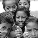 Samoana Kids by Michael Lothian