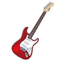 Fender Stratocaster Guitar Photographic Print