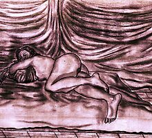 Sleeping Nude  by Steven Torrisi