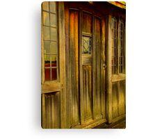 The Manor door Canvas Print