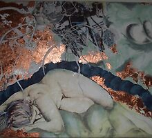 Asleep by Leanne  Gilbert