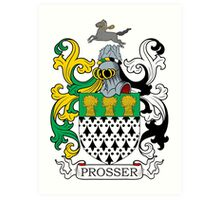 Prosser Coat of Arms Art Print