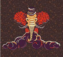 Elephant by Antikwar