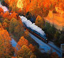 Norfolk & Western #611  -  Nemo, TN by TrainmasterBob