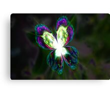 Fractal Glasswing Canvas Print