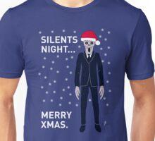 Doctor Who Silents Xmas Stuff (no background) Unisex T-Shirt