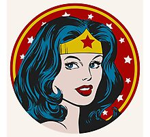 Princess Diana of Themyscira Photographic Print