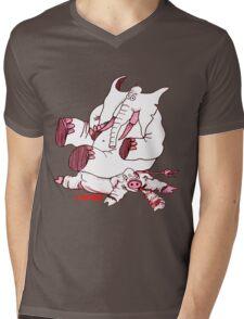 No Hogs Mens V-Neck T-Shirt