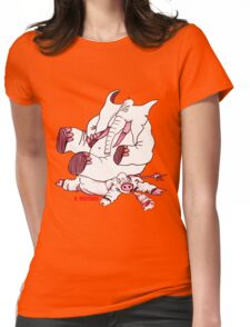 No Hogs Womens Fitted T-Shirt