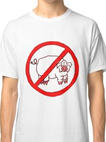 No Hogs Circle  Classic T-Shirt