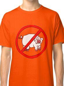 No Hogs Circle  Classic T-Shirt