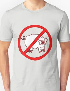 No Hogs Circle  Unisex T-Shirt