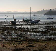Solidor Port by the Barrage  by Karo / Caroline Evans (Caux-Evans)