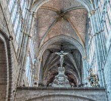Vaults of Avila Cathedral Sticker