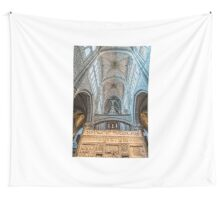 Vaults of Avila Cathedral Wall Tapestry