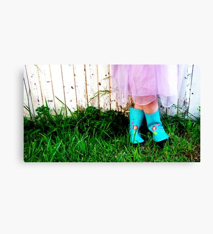 Favorite Boots Canvas Print