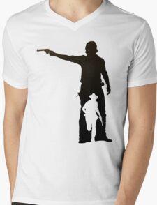 Hunt or Be Hunted Mens V-Neck T-Shirt