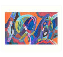 """Color Rush"" Art Print"
