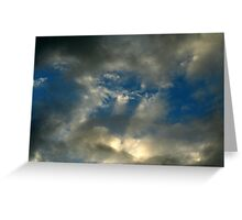 God's Picture. Greeting Card