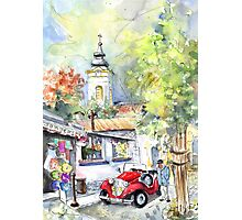 A Beautiful Car In Szentendre Photographic Print