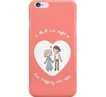 Howl & Sophie Valentine iPhone Case/Skin